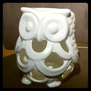 NWOT!  Ceramic Owl Decor